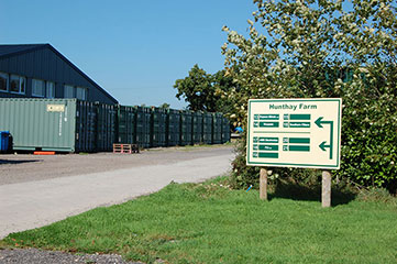 Container storage Devon